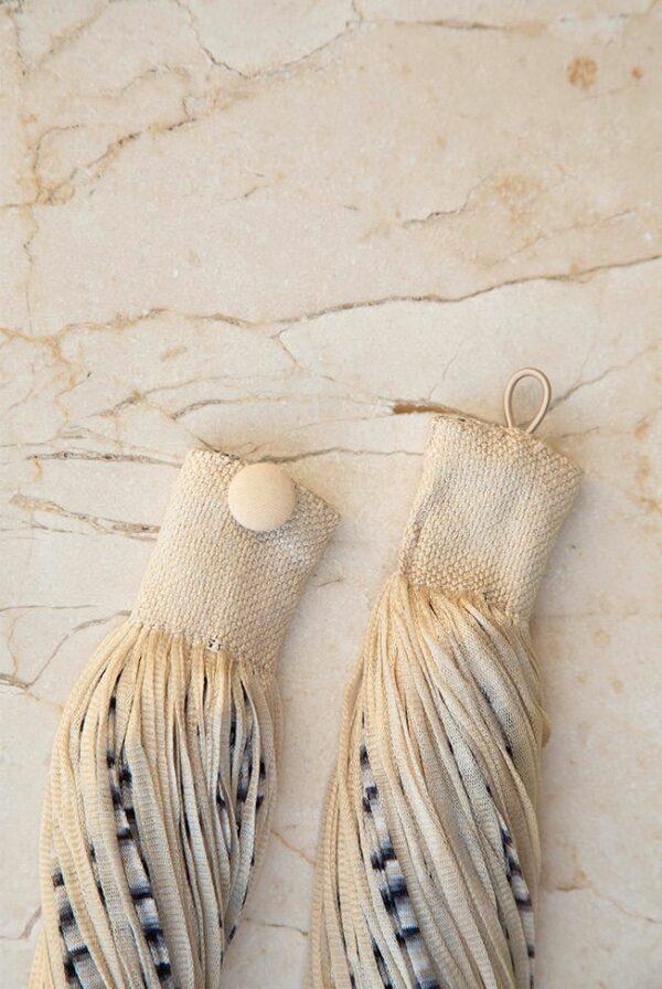 accessories necklace silk jasp beige black 02