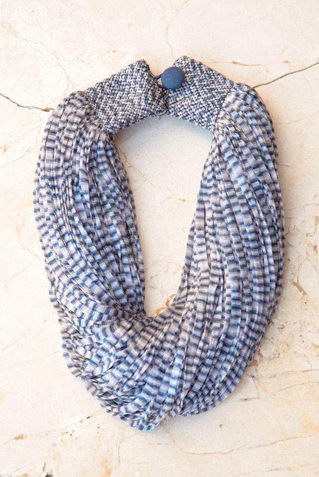 accesorios collar de seda jasp azul gris 01