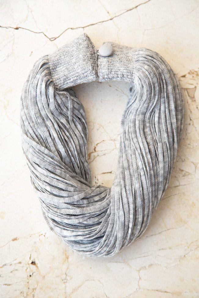 accesorios collar lana gris 01