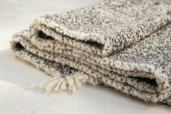 blanket boucle jasp grey grey white 03