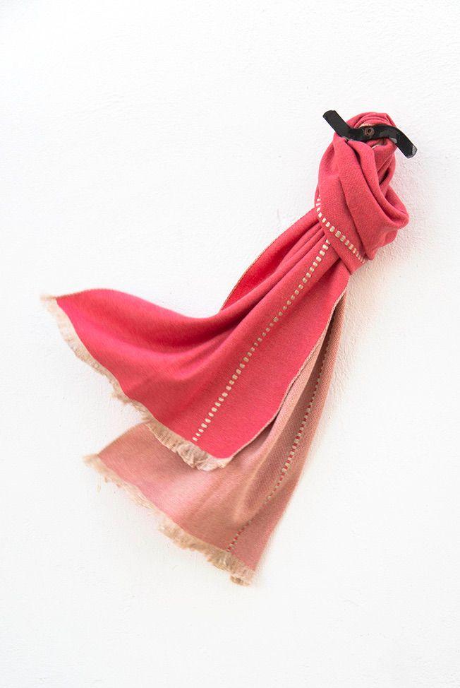 foulard beige coral relieves 01