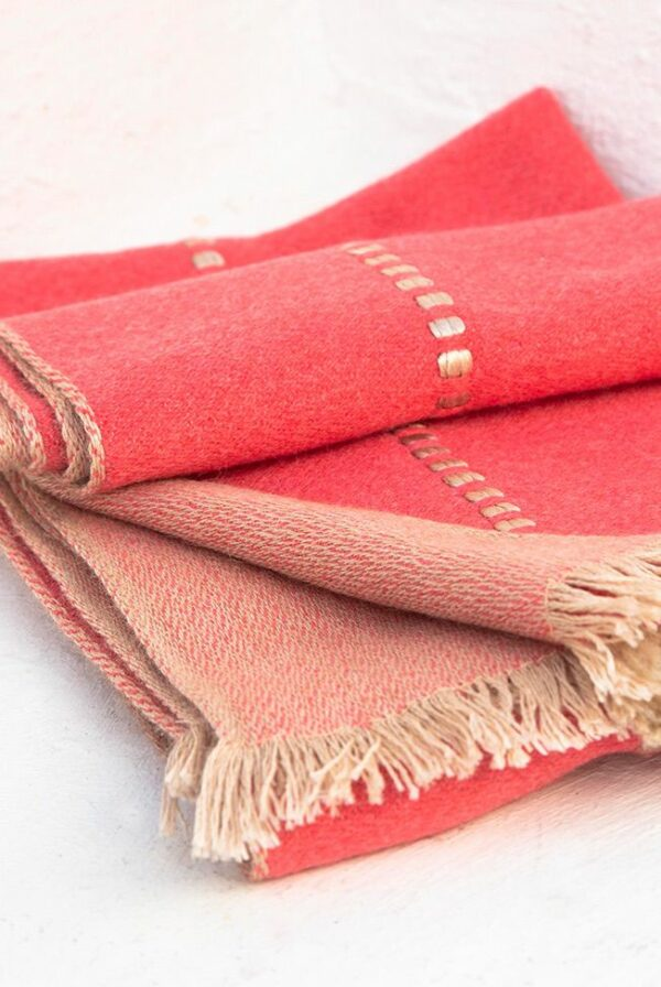 foulard beige coral relieves 03