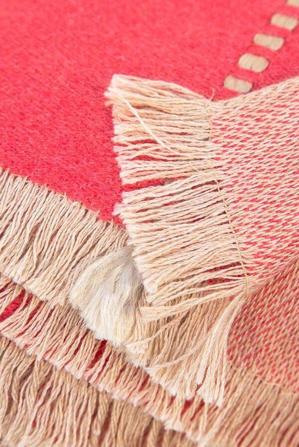 foulard coral beige reliefs 04