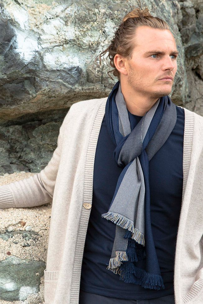 foulard denim blue blue 4 02
