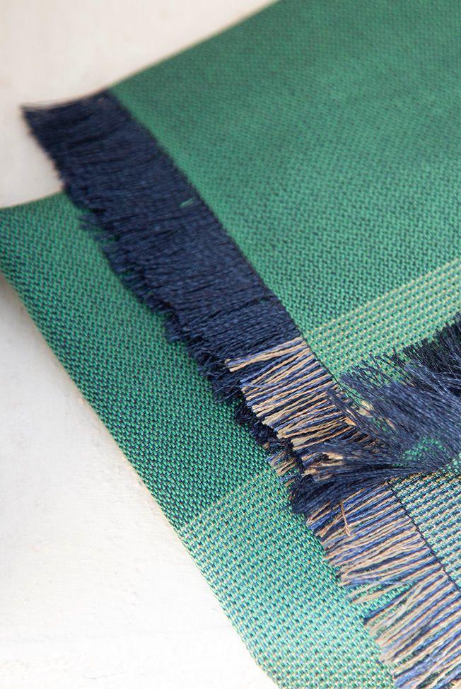 foulard green blue 4 03