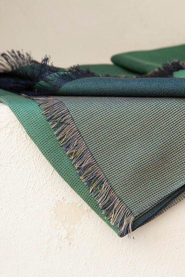 foulard green blue 4 05
