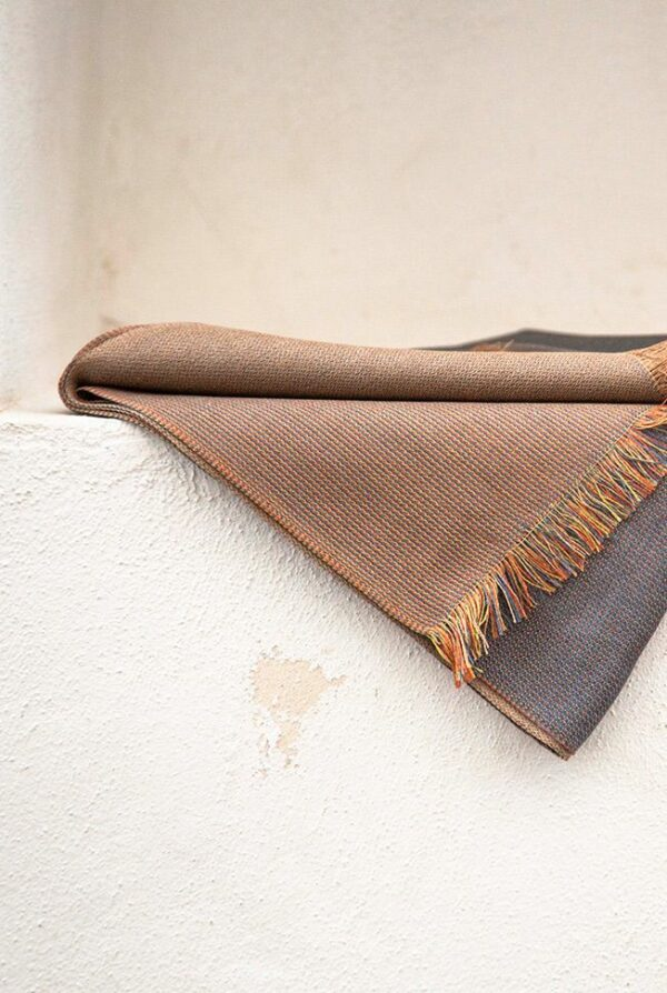 foulard gris camel 02