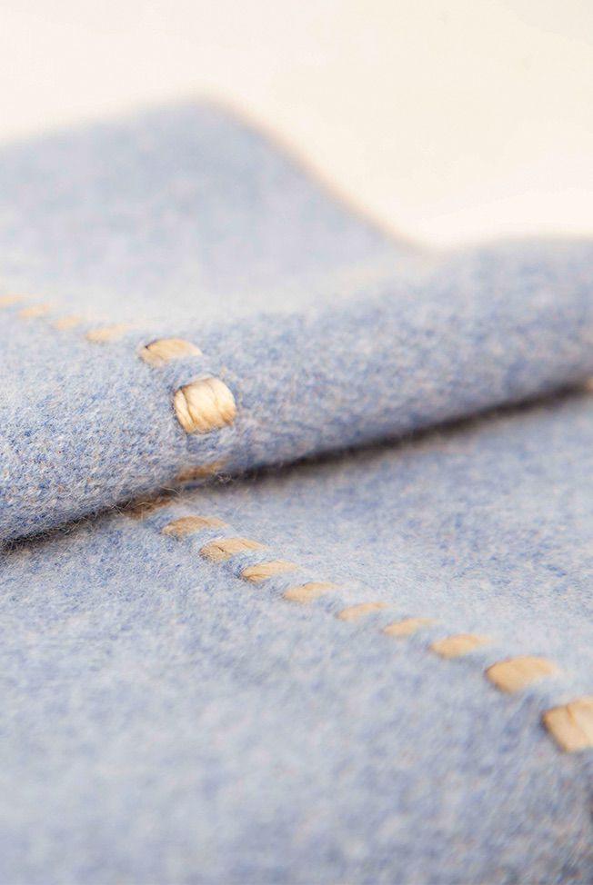 foulard jeans blue beige reliefs 03